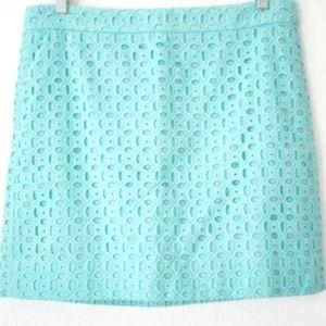 J. Crew Eyelet Skirt 6